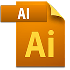 Adobe illustrator file icon image