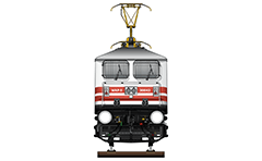 "Vector illustration with front view of high-speed electric locomotive WAP-5 used in Indian Railways to serve passenger express trains. Abbreviation WAP-5 mean: W - Broad Gauge, A – AC electric traction, P – Passenger and ""5"" - the serial number of the modification of locomotive. EDITORIAL USE"