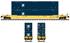 IMPORTANT: EDITORIAL USE ONLY! Vector image in high-resolution 300 DPI with side view of cylindrical hopper car in two different liveries of Gouvernement du Canada.  Isolated objects over white background.