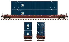 Vector image with side view of Canadian covered hopper cars by the Government of Saskatchewan in red-brown and green livery. EDITORIAL USE