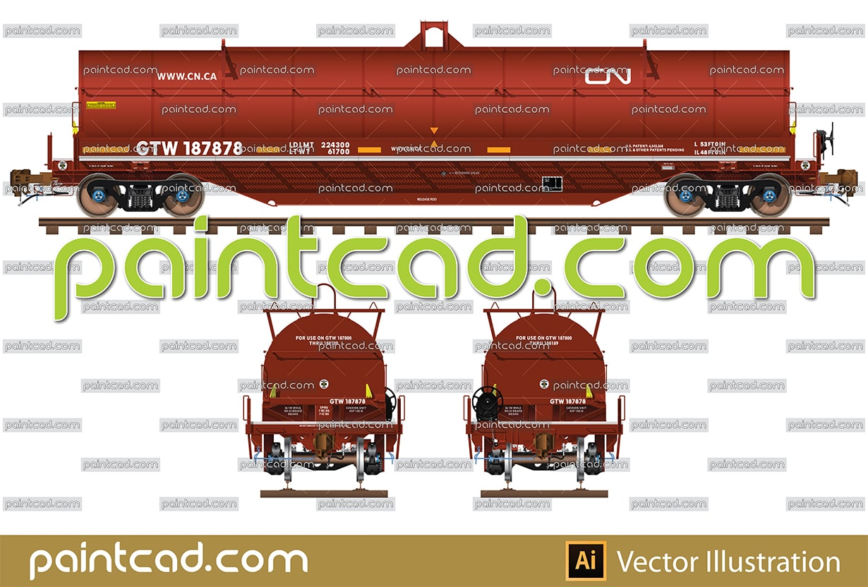 Vector icons of a bicycle in axonometric and side view - vector illustration